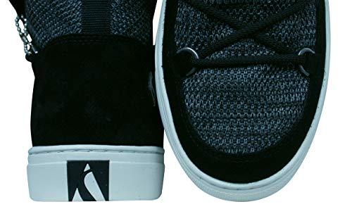Donna Street 73578 Skechers Nero Side blk Sneaker wH8Fzq0