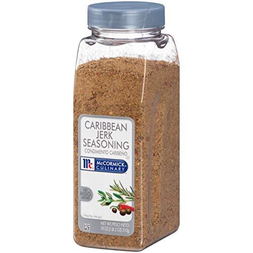 (McCormick Culinary Caribbean Jerk Seasoning, Dry Jerk Seasoning, 18 oz)