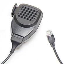 Generic Modular Plug Lapel Remote Speaker Mic Microphone Compatible For 6 Pin Kenwood Tk-981, Tk-980, Tk-868, Tk-880, Tk-850, Tk-860, Tk-830, Tk-808, Tk-780