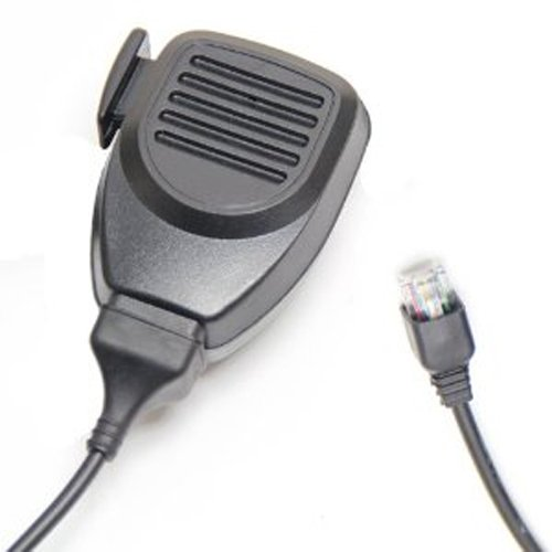 EmBest Modular Plug Lapel Remote Speaker Mic Microphone Compatible For 6 Pin Kenwood Tk-981, Tk-980, Tk-868, Tk-880, Tk-850, Tk-860, Tk-830, Tk-808, Tk-780