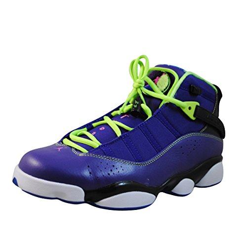 nike air jordan 6 rings mens basketball trainers 322992 515 sneakers shoes jumpman23 (uk 10 us 11 eu 45) by NIKE