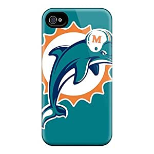 DaMMeke Snap On Hard Miami Dolphins Logo Nfl Protector Case For Samsung Note 4 Cover