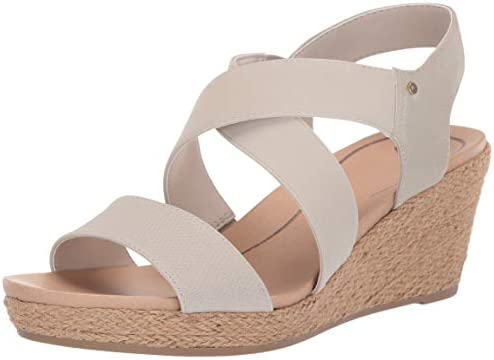Dr. Scholl's Women's Emerge Sandal, Oyster Tumbled, 6.5 M US