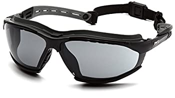 Pyramex GB9420STM Isotope Goggles Black Frame w/Gray A/F Lens, (12 Pair)