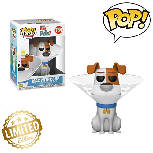 (Pop! Movies: Secret Life of Pets 2 - Max in Cone Limited Edition)