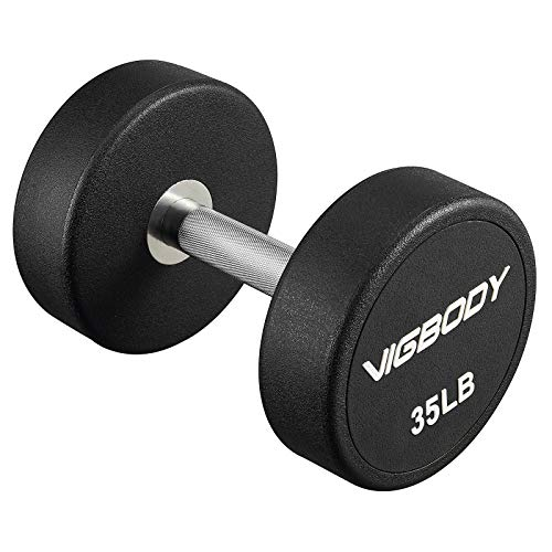 VIGBODY Dumbbell Weights Barbell with Metal Handles for Strength Training, Full Body Workout, Functional and HIT Workout…