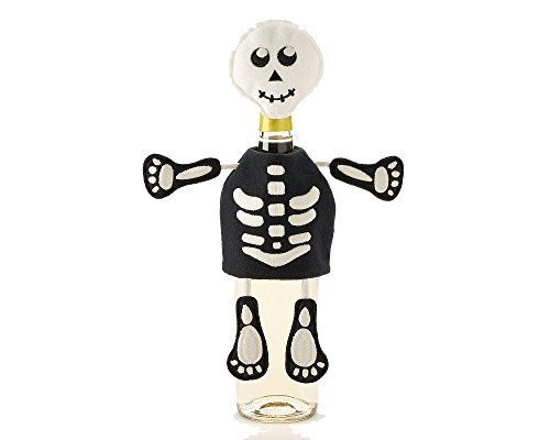 Food Network Glow In the Dark Skeleton Wine
