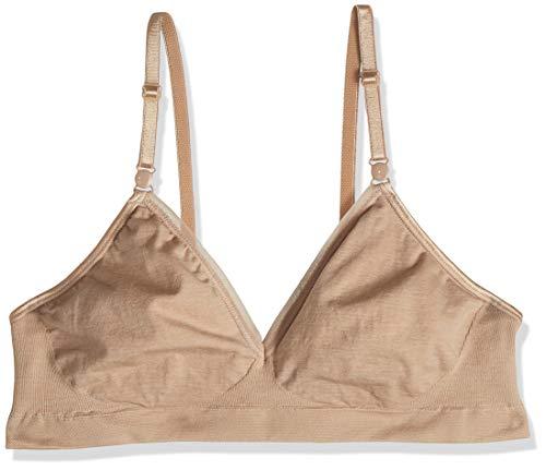 Hanes Women's Convertible Seamless Wire Free Bra, Nude Heather, Medium