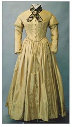 - Ladies Round Dresses 1840- 1852 Three Bodices with Five Interchangeable Sleeves, Pelerine, & Under Sleeves Sewing Pattern #114 (Pattern Only)