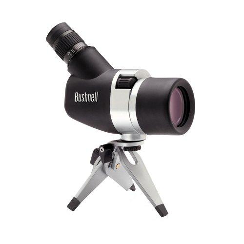 Bushnell 15-45x50mm Spacemaster - Telescopio terrestre con ocular 45º, negro y plata 787345