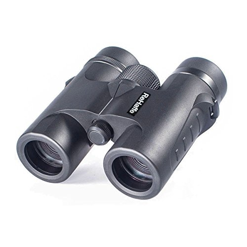 ReHaffe 8×32 Travel Binoculars Super Lightweight, Small Binoculars Pocket Size Waterproof High Powered for Crystal Clear Image Idear for Travel Birding Hunting Hiking Sports Games Concerts