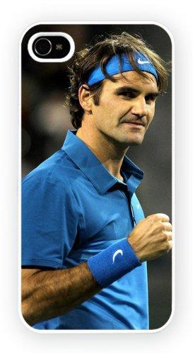 Roger Federer Tennis, iPhone 5 5S, Etui de téléphone mobile - encre brillant impression