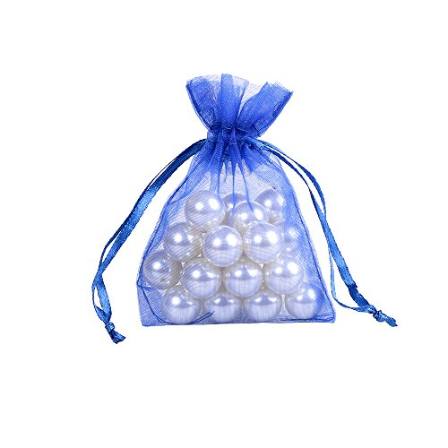 Blue Fabric Party Bags - 1