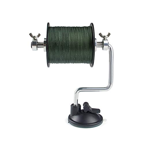 Booms Fishing LR1 Fishing Line Spooler, Adjustable for Varying Spool Sizes