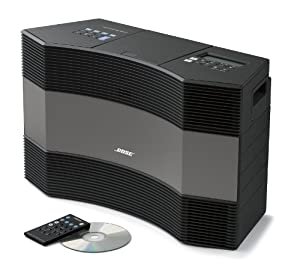 bose acoustic wave music system ii graphite gray home audio theater. Black Bedroom Furniture Sets. Home Design Ideas
