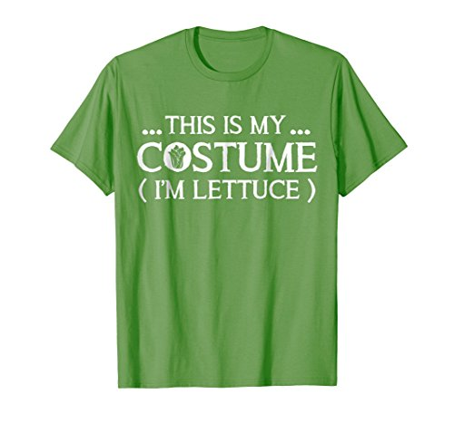 This Is My Costume I'm A Lettuce Vegetable