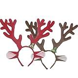 M&G House Reindeer Antlers Headband Christmas and