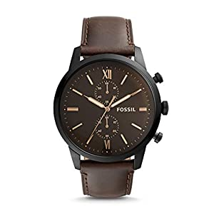Fossil Chronograph Brown Dial and Strap Watch