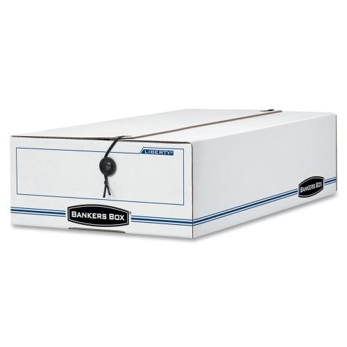 BANKERS BOX Liberty Basic Storage Box, Check/Voucher, 9 x 14