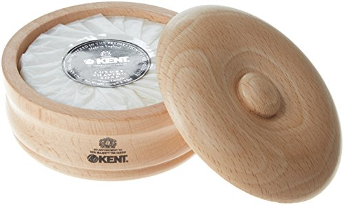 Beechwood Shaving Soap Bowl - Kent SB1 Shaving Bowl And Soap