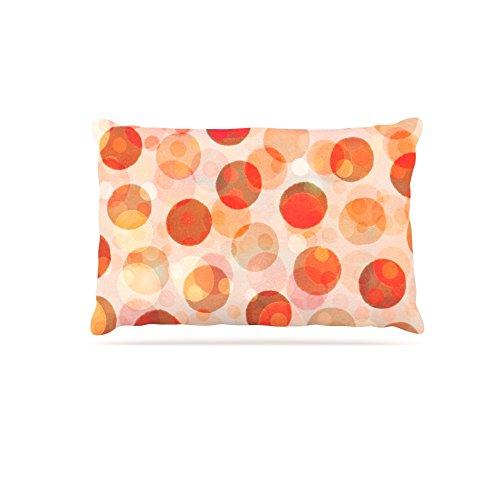 Kess InHouse Daisy Beatrice Shepard's Delight  orange Fleece Dog Bed, 30 by 40