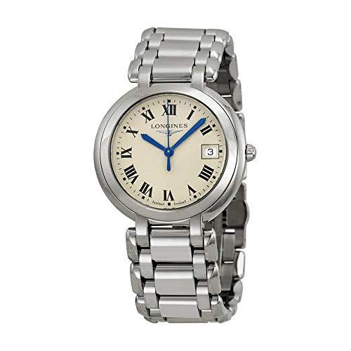 Longines PrimaLuna White Dial Stainless Steel Ladies Watch L81144716
