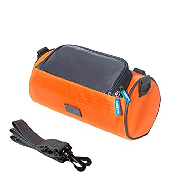 CAIDUD Portable Bicycle Bike Front Handlebar Bag Outdoor Bicycle Front Touchscreen Waterproof