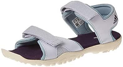 Adidas Sandplay Od K, Kids' Athletic & Outdoor Shoes, Blue (AEro Blue S18/Ash Grey S18/Chalk White), 1 UK (33 EU),Bc0704, For Unisex