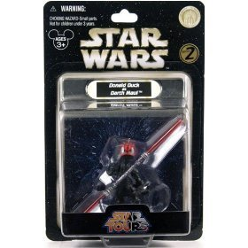 Disney Star Tours Wars Donald as Darth Maul Figure