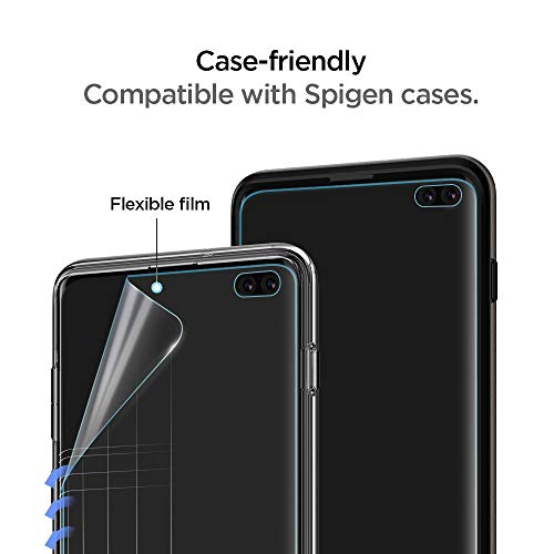 Spigen NeoFlex Screen Protector [TPU Film] Designed for Samsung Galaxy S10 Plus (2019)(2 Pack) - http://coolthings.us