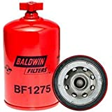 Baldwin BF1275 Heavy Duty Diesel Fuel Spin-On Filter