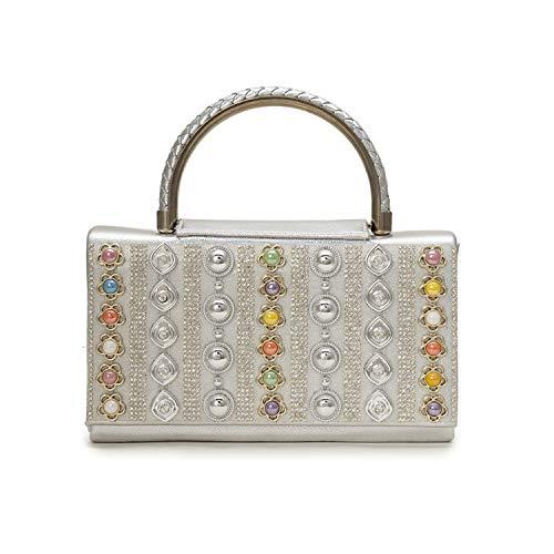 Vintage Bag for Women clutch crystal diamonds handle ladies gold handbags shoulder bag evening bags Style8