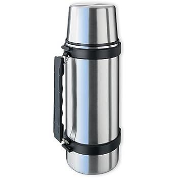 Isosteel VA-9562D Duo Vakuum-Isolierflasche mit Griff 1,0 L