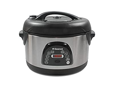 Shamrock 6.5 Qt Nonstick Pressure Cooker w/ Voice Command