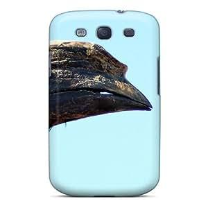 New Tpu Hard Case Premium Galaxy S3 Skin Case Cover(african Hornbill)