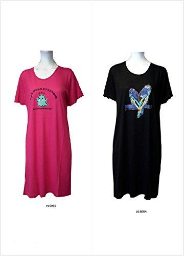 Fionalissa - Vestido - kimono - Manga corta - para mujer