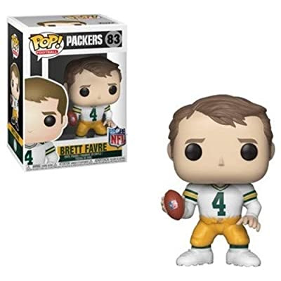 Funko POP! NFL: Legends - Brett Favre (WH): Toys & Games [5Bkhe1806191]