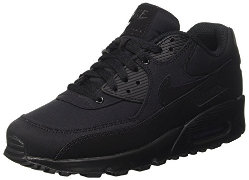 Essential Max 90 Noir Baskets et 44 Nike Air maille Synthétique EU Hommes wSapfxnqXO
