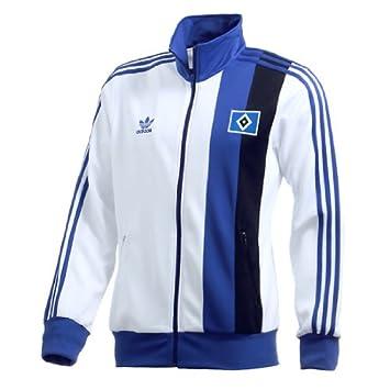 78b8b7c0cbdb HAMBURG HSV Adidas Originals Retro Track Top Jacket XL  Amazon.co.uk   Sports   Outdoors