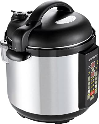 Gowise USA 6-in-1 Electric Stainless-steel Pressure Cooker/slow Cooker from GoWISE USA