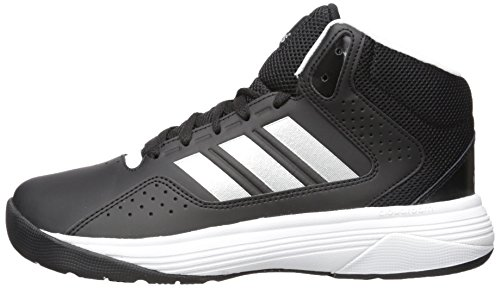 adidas neo uomini cloudfoam ilation metà grande basket scarpa, nero