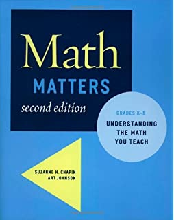 Making sense teaching and learning mathematics with understanding math matters understanding the math you teach grades k 8 2nd edition fandeluxe Choice Image