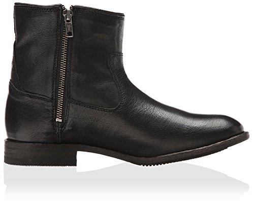 FRYE Womens Ethan Double Zip Ankle Boot Black 47NwEKG2JL