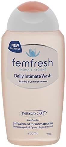 Femfresh Daily Wash everyday care soothing calming aloe vera 250ml product of Australia