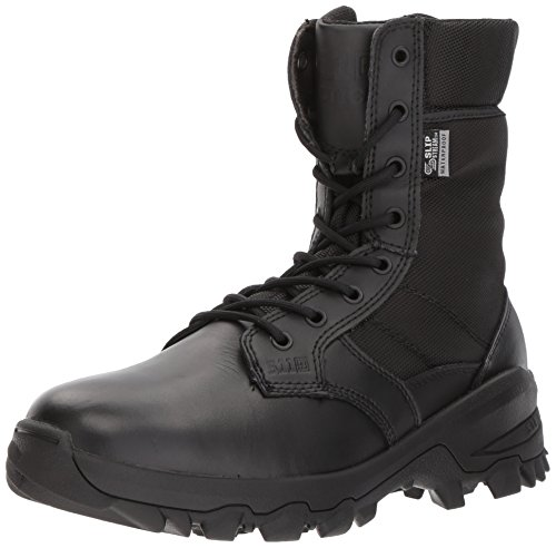 3 Safety Boots - 5.11 Men's Speed 3.0 Waterproof Fire and Safety Boot, Black, 14 Medium US