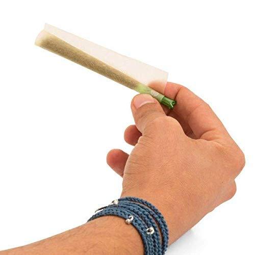 SKDK Reusable Glass Rolling Tips Cigarette Filter for DIY Cigarettes Easy Clean Color Random(5pcs Tips)