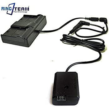 Plug Type: DC 2.0 Xennos DC 2.0 NP-FW50 AC-PW20 Coupler for Sony RX10 2 3 ILCE 7 7R 7S A7S A3500 A5000 A6000 A6300 A6500 A7000 Cameras Fit Moza Air Cross