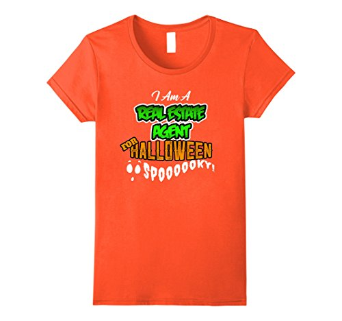 Womens Real Estate DIY Cheap Halloween Costume Supplies Shirt Medium (Scary Halloween Costumes Diy)