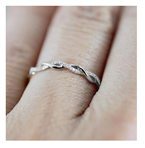 Cross Ring for Women Statement Engagement Enhancers Ring Engraving Customized Personalized ()
