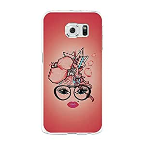 Funda Gel Samsung Galaxy S6 BeCool Corte de Pelo Abstracto